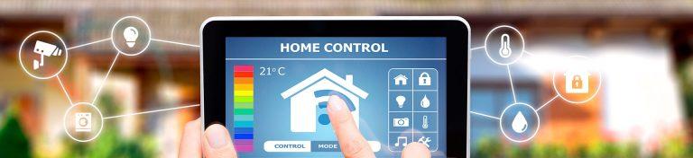 Dispositivo tablet con programa de automatización y domótica